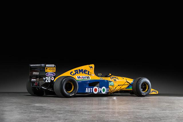 1991 Benetton-Ford B191 - #Benetton #Ford #f1 #motorsport