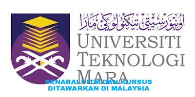 Senarai UiTM dan Kursus Ditawarkan di Malaysia
