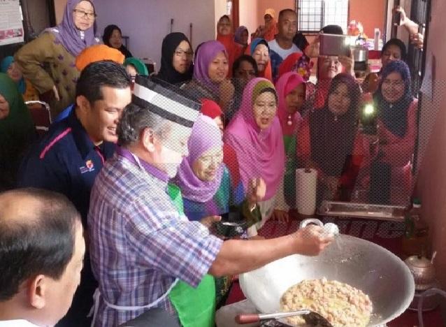 Sultan Johor Memasak