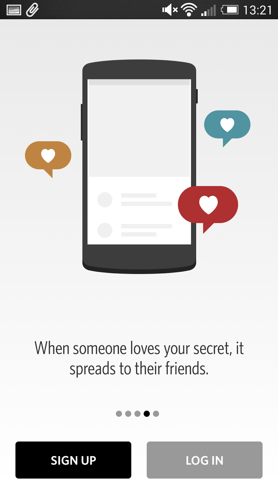 Secret 解除分享焦慮的社交 App ,對朋友匿名寫真心話 secret-03