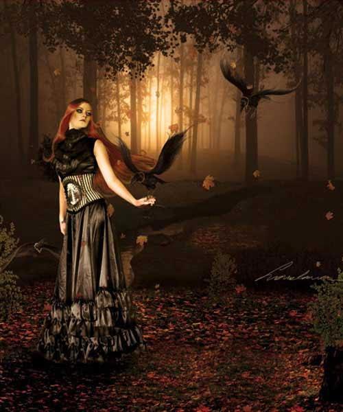 How To Create A Dark Emotional Photo Manipulation