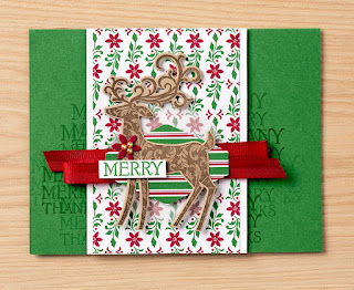 Stampin' Up! 8 Dashing Along Project Ideas ~ Dashing Deer ~ 2018 Holiday Catalog