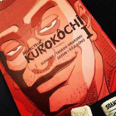 Inspecteur Kurokôchi de Takashi Nagasaki et Kôji Kôno éditions komikku