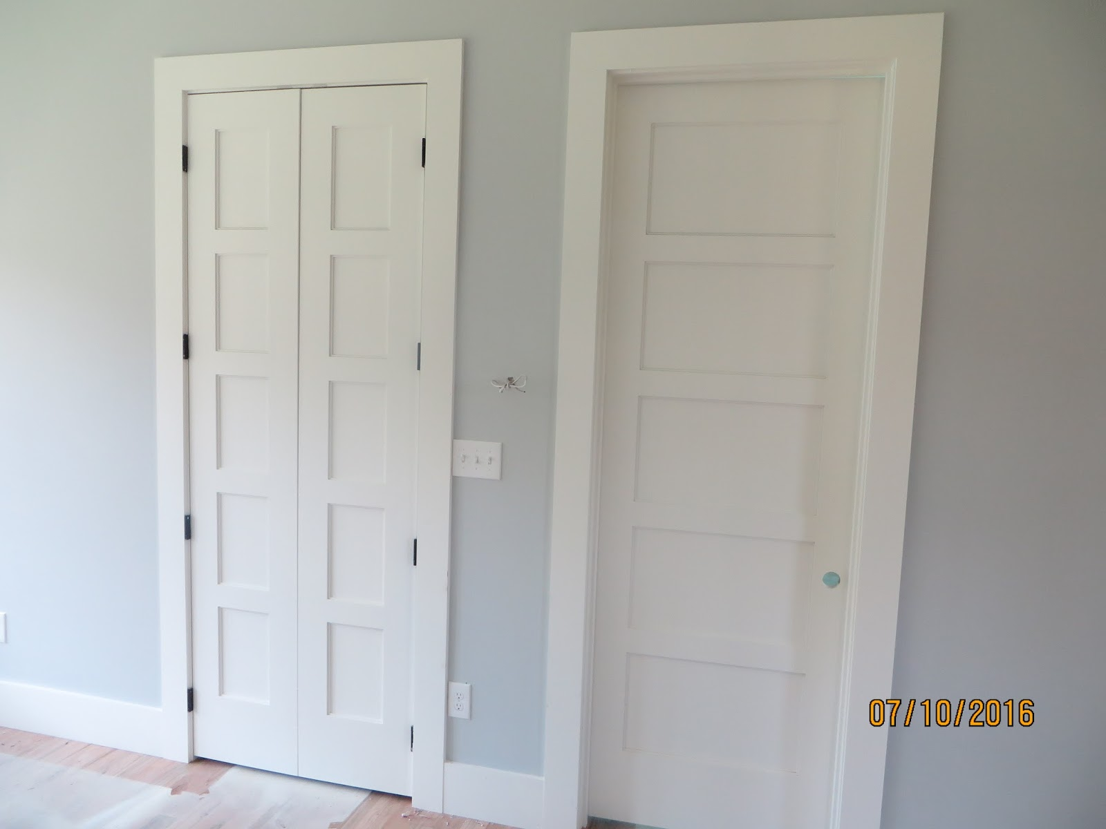 paint ugly collage moulding door tall dark wood doors interior update with your just makeover some flat inexpensively