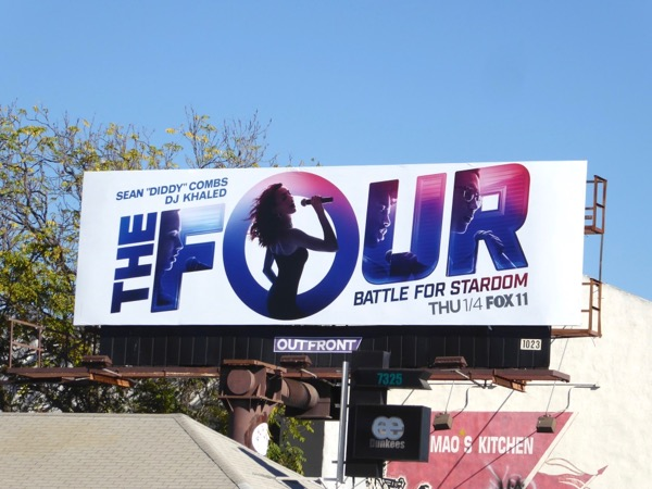 Four Battle for Stardom season 1 billboard