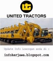 Lowongan Kerja Terbaru PT United Tractor Tbk