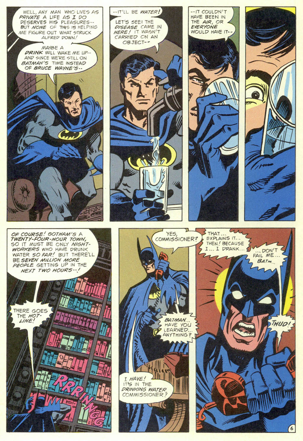 Read online Shadow of the Batman comic -  Issue #1 - 8