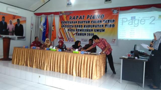 DCT DPRD Tebo, Keterwakilan Perempuan Capai Angka 35 Persen