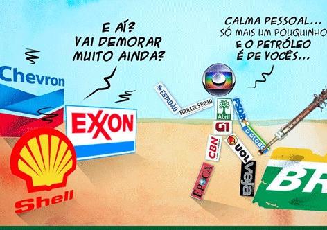 Resultado de imagem para petroleo e nosso charges