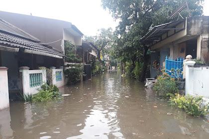 Banjir Jatimulya Tambun Selatan Bekasi Timur