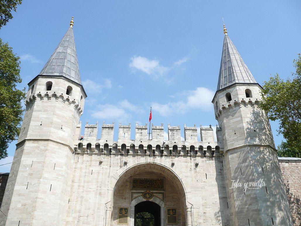 Topkapi, entrada monumental