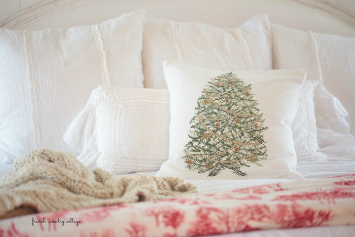Did You Know That I Ordered The Most Amazing Red Toile Bedding,