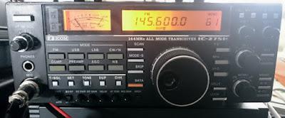 ICOM IC-275H korjauksen jälkeen toiminnassa