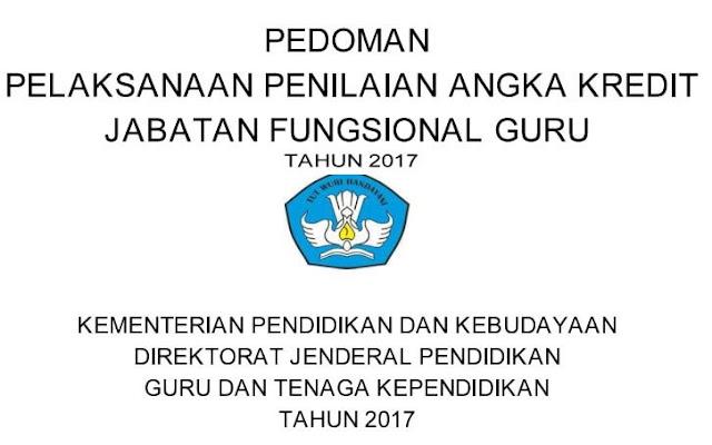 Download Pedoman Pelaksanaan PAK Jabatan  Fungsional Guru