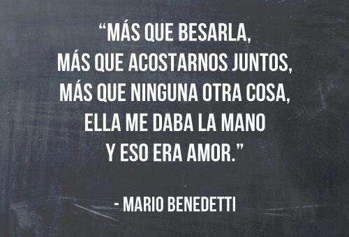Frase del libro La tregua de Mario Benedetti2