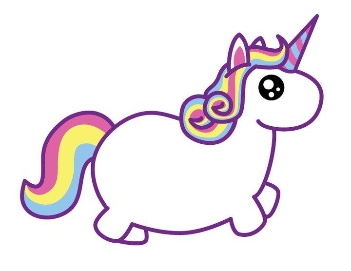 Fat unicorns on Pinterest | Unicorns, Cute Unicorn and ...