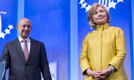 Клинтоны и Уолл-стрит