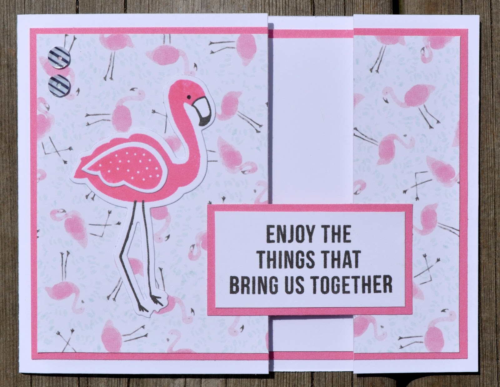 DAT S My Style Flamingo Birthday Card