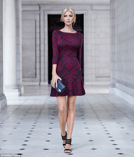 ivanka-trump-in-dress-beautiful-look
