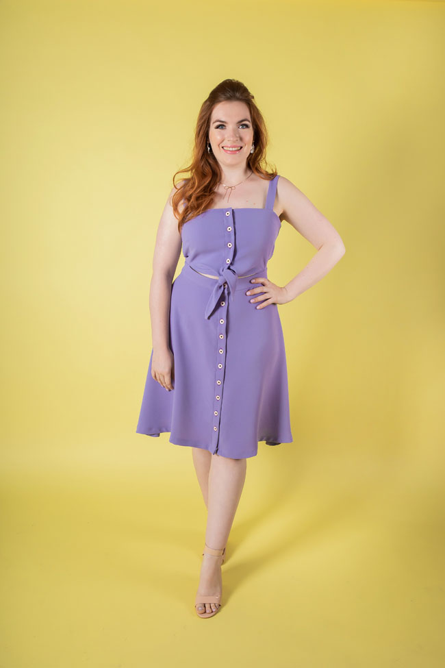 Seren dress sewing pattern - Tilly and the Buttons