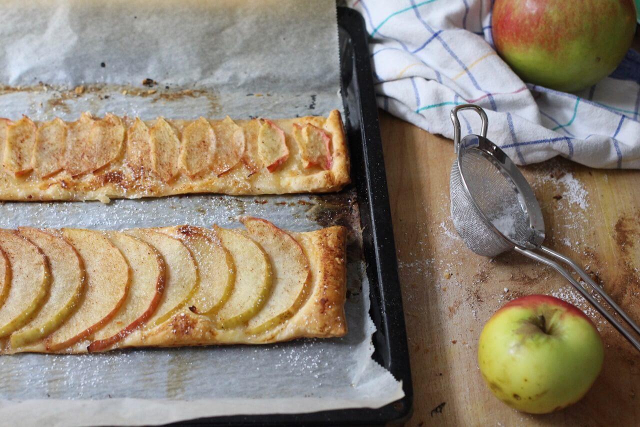 Apfel Marzipan Schnitten
