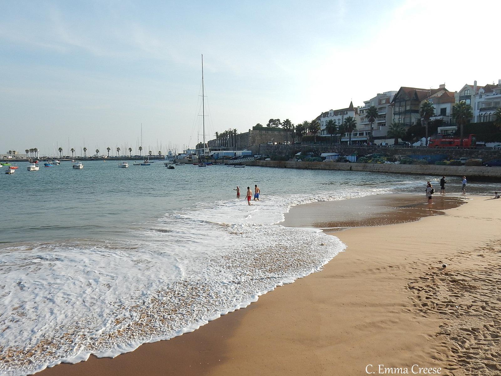 Things to do in Lisbon - Cascais beach