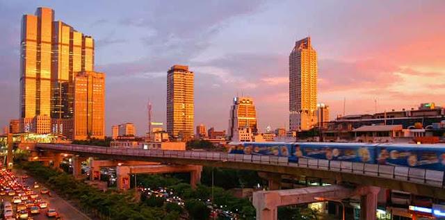 Kota Wisata di Thailand