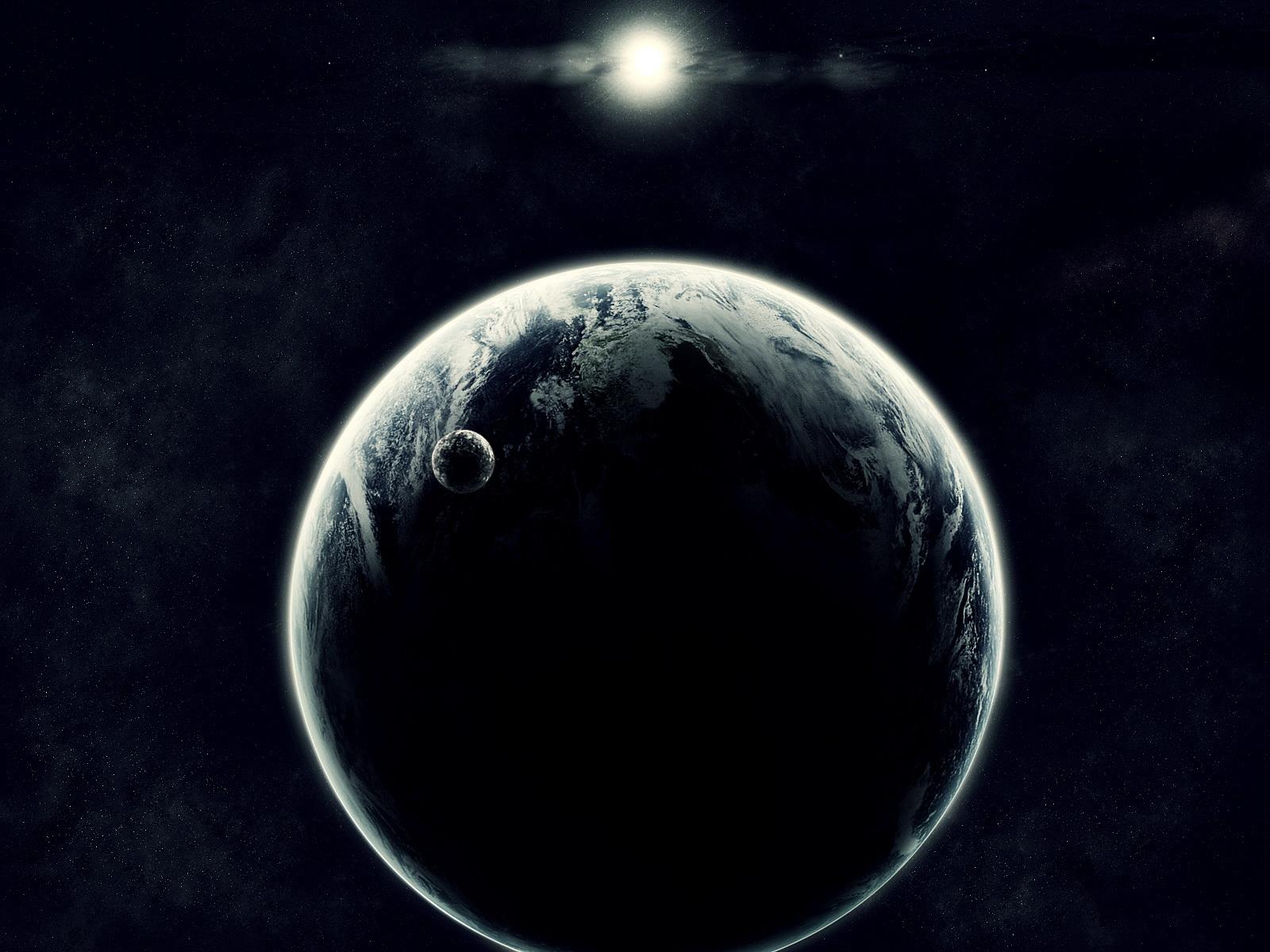 Hd Clean Wallpapers Black Earth