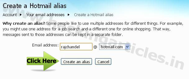 how to delete an email address in hotmail