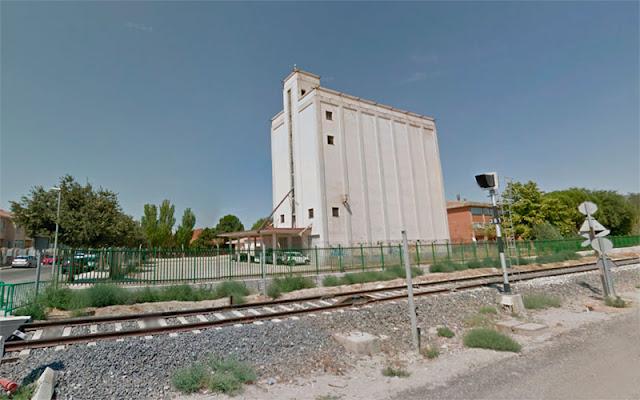 Imagen del silo de Illescas en la calle Yeles