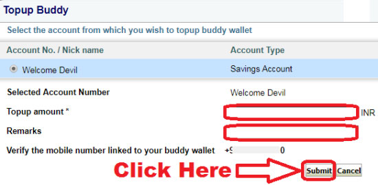how to add money to state bank buddy