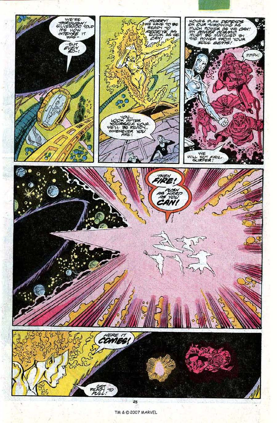 Read online Silver Surfer (1987) comic -  Issue #18 - 27