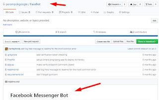 facebook bot messanger