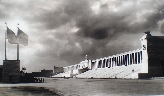 Albert Speer Zeppelinfeld Stadium worldwartwo.filminspector.com