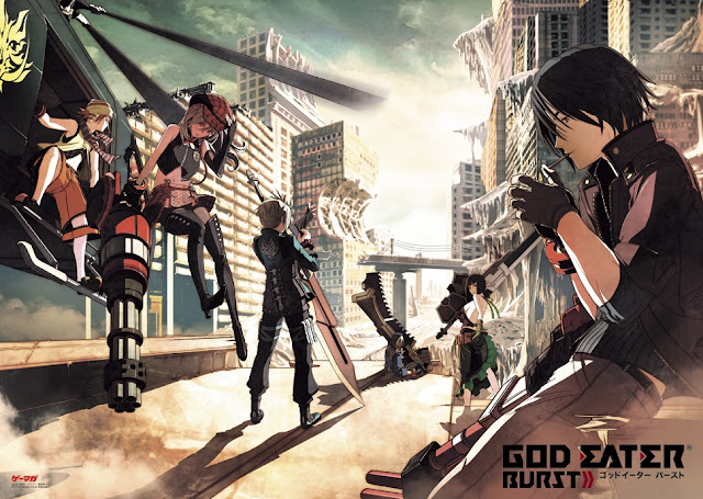God Eater Burst Android Game (USA) PSP ISO+CSO Download