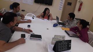Reunião com o Supervisor Fernando Jr. de Araújo