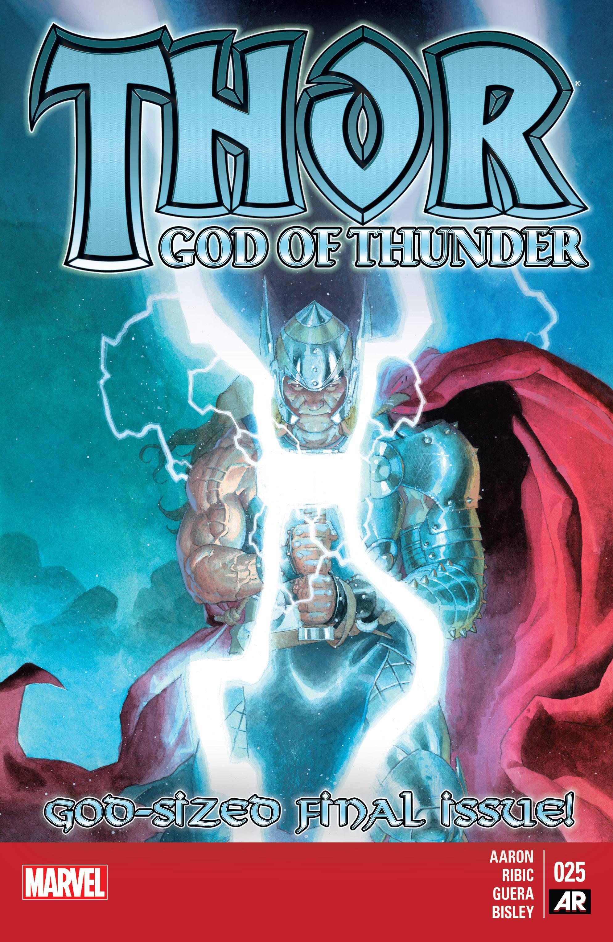Thor: God of Thunder 25 Page 1
