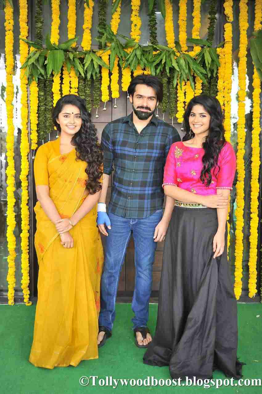 Anupama Parameswaran New Movie Launch Stills In Yellow Saree