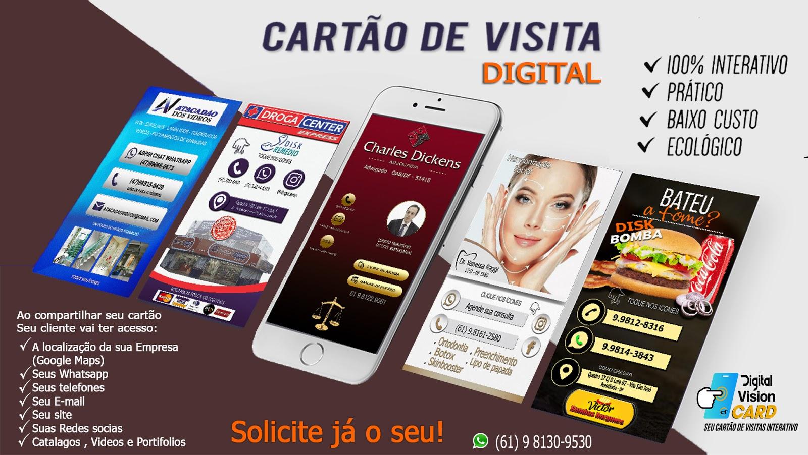 Digital Vision Como Fazer Um Cartão De Visita Virtual