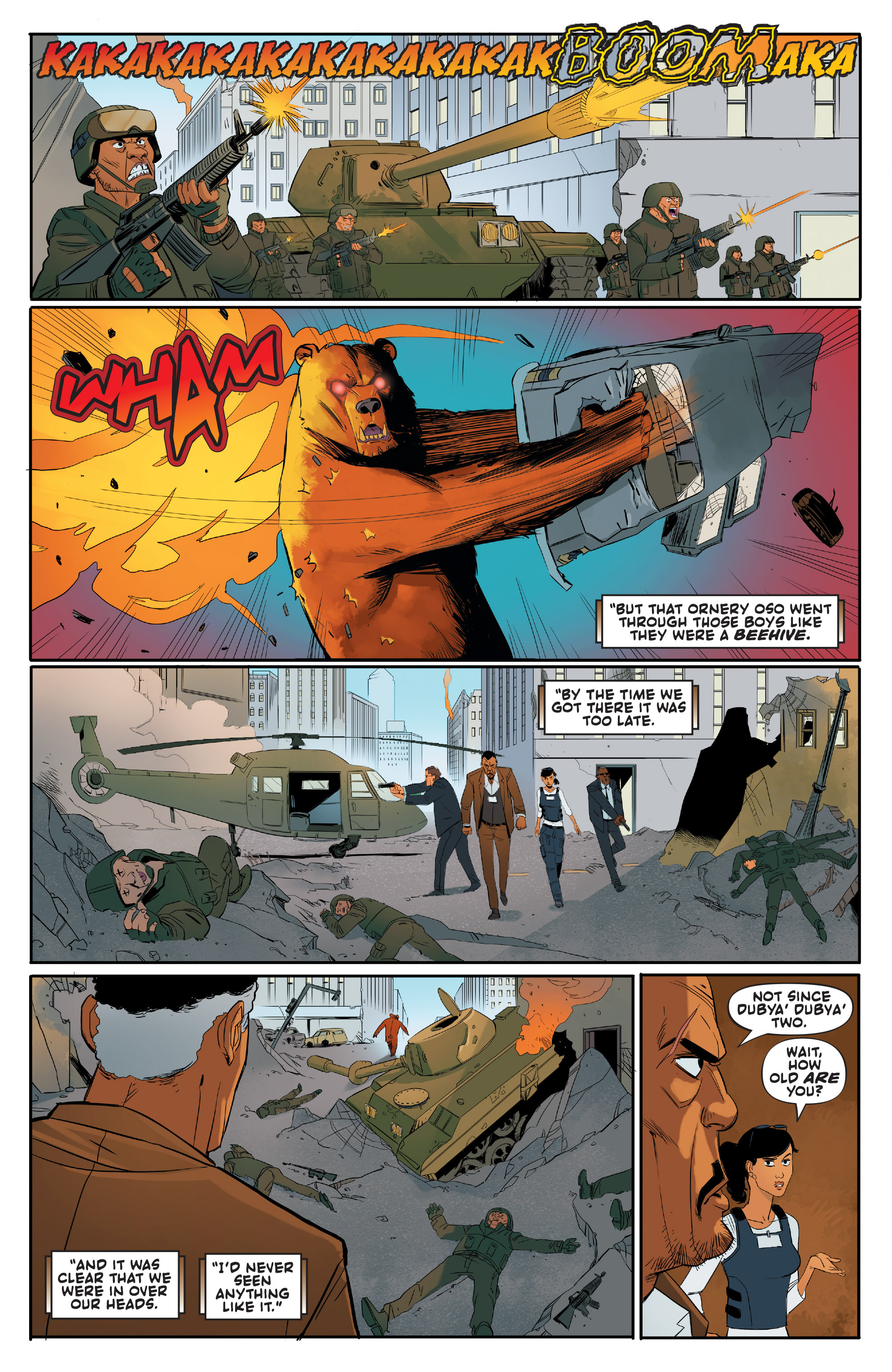 Read online Shirtless Bear-Fighter! comic -  Issue #1 - 14