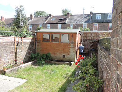 suntrap garden terraced house southsea