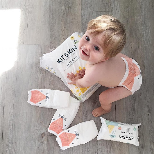 Kit&Kin Eco Nappies and Wipes*