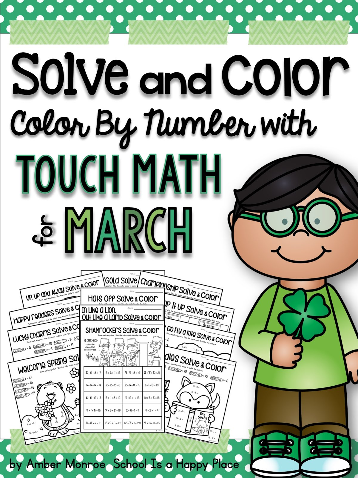 Touch Math for March