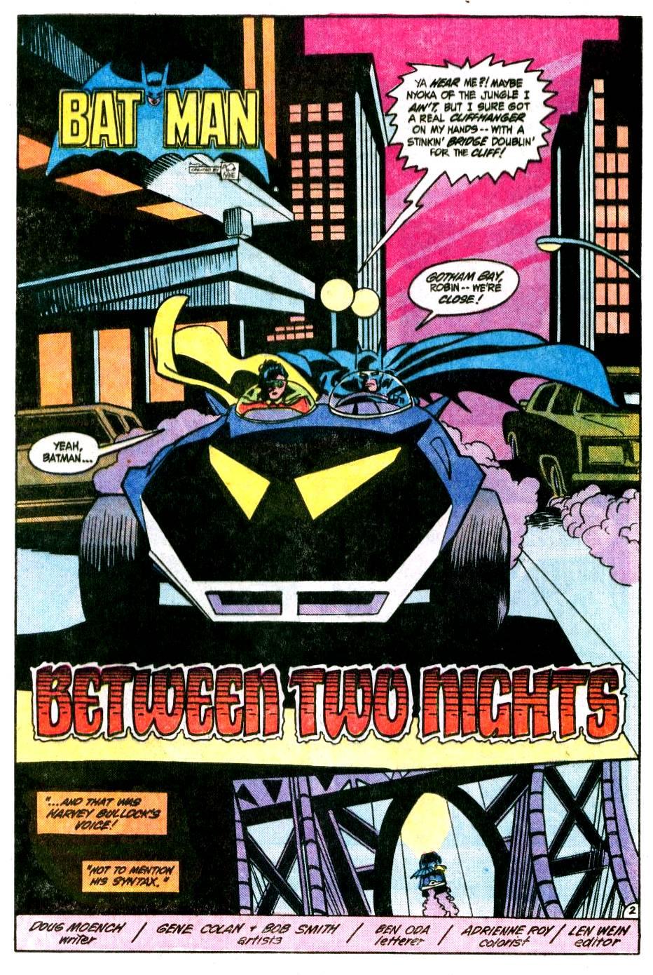 Detective Comics (1937) 542 Page 2