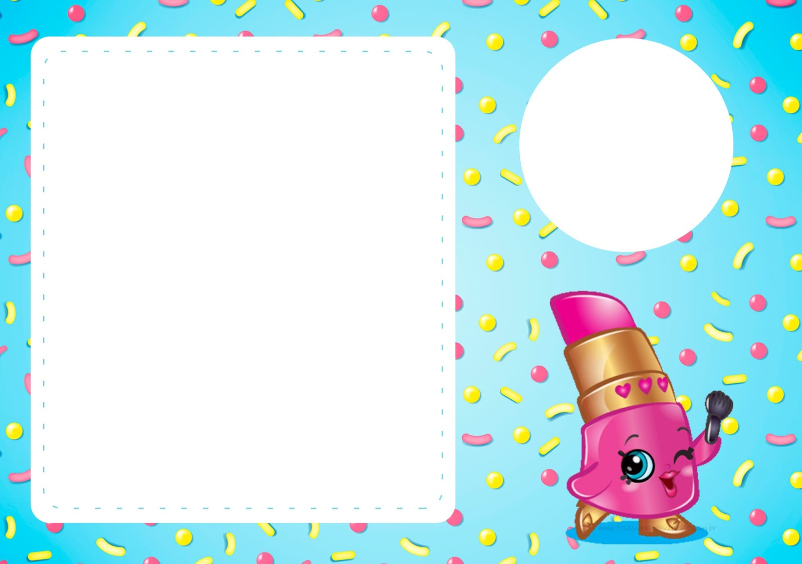 Shopkins Free Printable Invitations Oh My Fiesta In