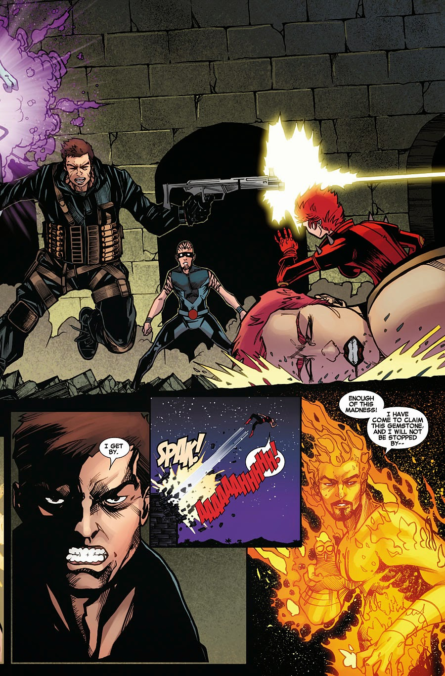 Old and New Juggernauts in Amazing X-Men