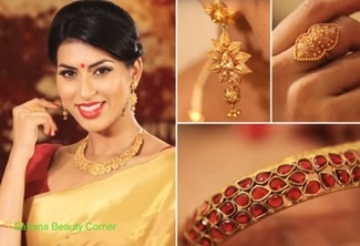 Matching Jewellery & Accessories for Sarees