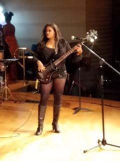 Sylvia Black is a rock and jazz bassist, singer and songwriter.