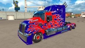 ETS2 Optimus Prime mod
