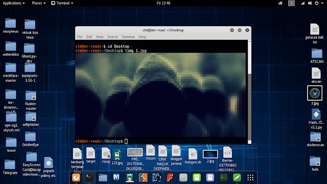 cara membuka foto di terminal kali linux